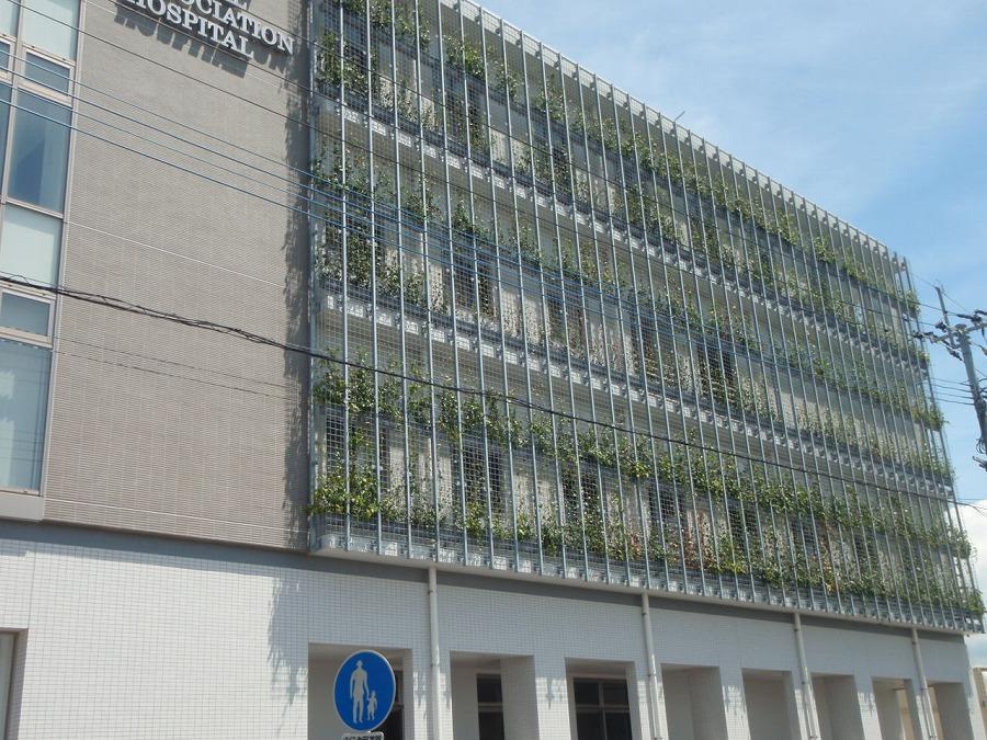 某病院緑化-01